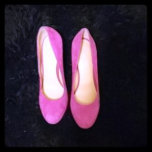 Pink nine west high heels NWOT